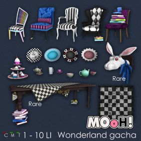 MOoH! Wonderland gacha