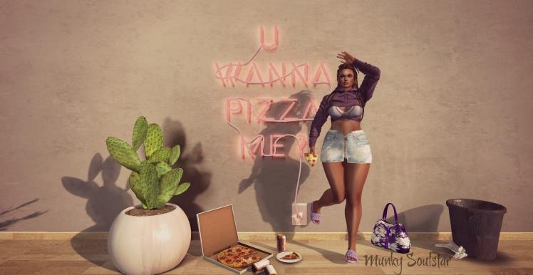U Wanna Pizza Me