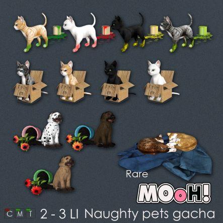 MOoH! Naughty pets gacha