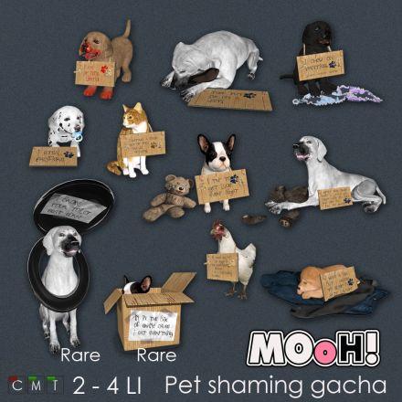 MOoH! Pet shaming gacha