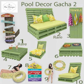 Bee designs Pool gacha 2