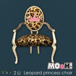 MOoH! Leopard Princess chair