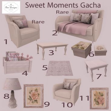Bee Designs Sweet Moments Gacha