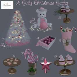 A Girly Christmas Gacha