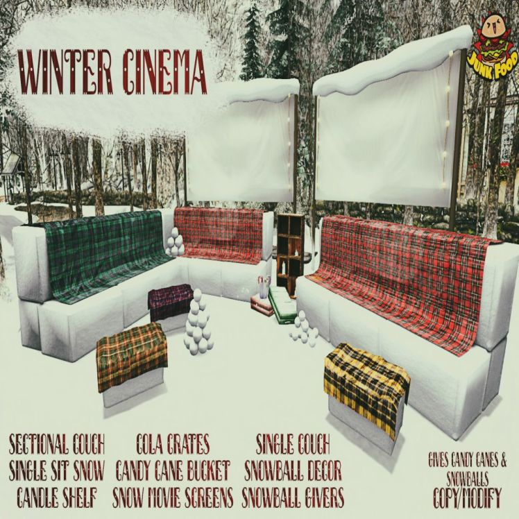 Junk Food - Winter Cinema