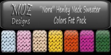 HUD Graphic - Nora Sweater V2 Colors Fat Pack