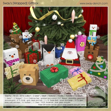 Sway's [Wrapped] Giftbox . Key