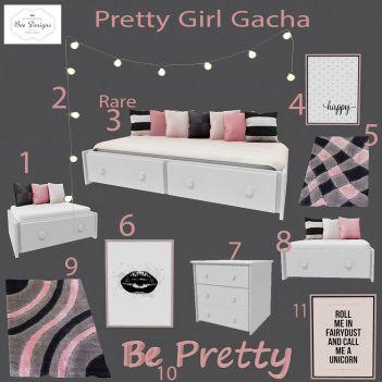 bee designs pretty girl gacha