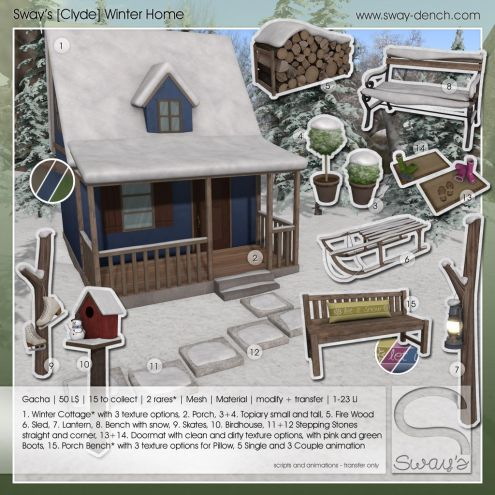 sway's [clyde] winter home . key