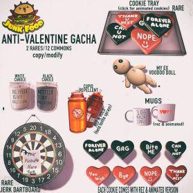 Junk Food - Anti Valentine Gacha Ad