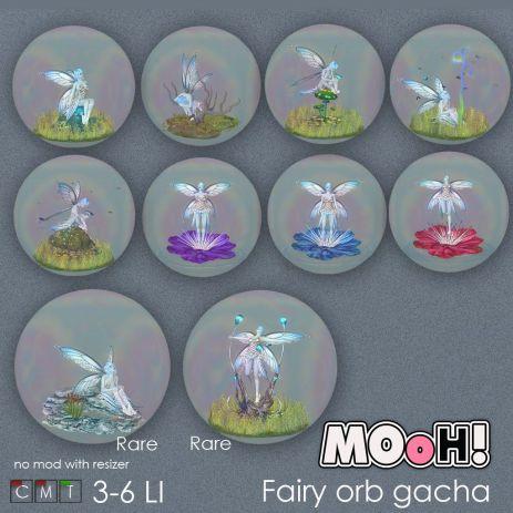 MOoH! Fairy orb gacha