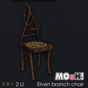 MOoH! Elven branch chair Hunt Gift