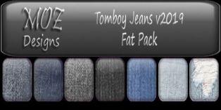 HUD Graphic - Tomboy Jeans v2019 Fatpack