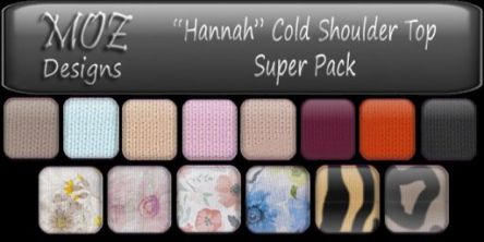 HUD Graphic - Hannah Top Super Pack