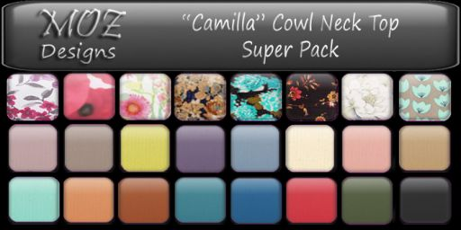 HUD Graphic - Camilla Top Super Pack