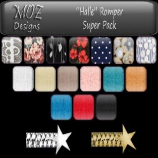 HUD Graphic - Halle Romper Super Pack